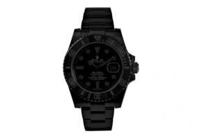 "Blaken Submariner Date ""Phantom Series"" // Rolex"