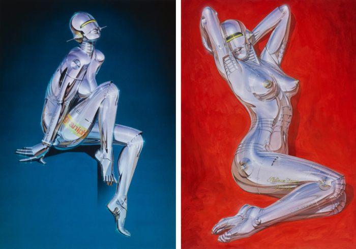 Hajime-Sorayama-Untitled-Left-Untitled-Right-photo-credits-of-the-artist